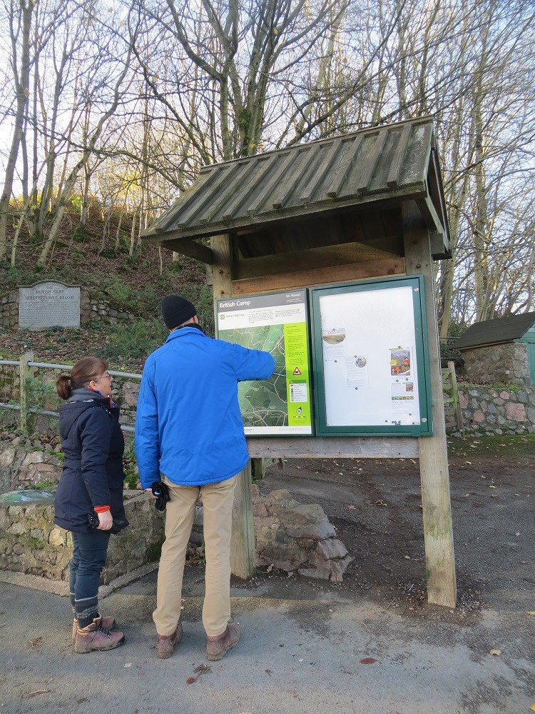 British Camp interpretation Panel with visitors low res.jpg