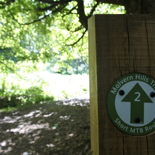 Short MTB route marker woodland low res.jpg